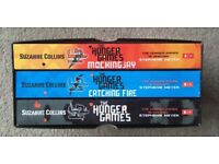 Teenage Fiction - The Hunger Games trilogy - paperback box set by Suzanne Collins