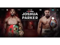 4X Anthony Joshua VS Joseph Parker Tickets