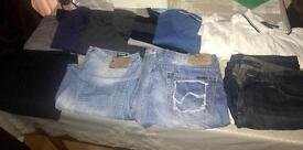 Bundle sale 11 items MENS jeans shirts jumpers