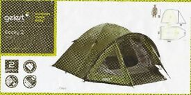Gelert Rocky 2 Two man dome tent.