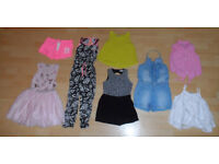 NEXT, RIVER ISLAND girls clothes age 7-8 years 8 items