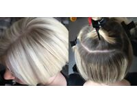 experienced mobile hairdresser, full head highlights with cut £50 hairdresser hairstylist