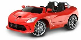 KIDS DODGE VIPER 2 SEATER 16-VOLT RIDE-ON ELECTRIC CAR!!!