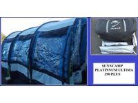 Caravan Awning Sunncamp Platinum Ultima 390 Plus Touring Caravan Awning REDUCED