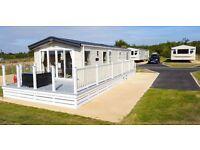 Static caravan for sale, 2 bed seeps 6, no site fee's till 20018