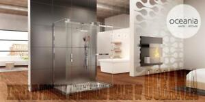 Bathroom Frameless Shower Doors - Glass Shower Doors - Bathtub Doors - Bathtub Shields, Custom Shower Starting @ $300