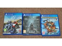 SONY PLAYSTATION PS4 GAMES