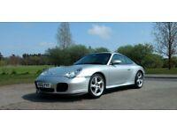 Porsche 911 996 Carrera 4S - Exceptional condition, FSH, Manual.