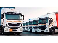 HGV Class 1 & Class 2 drivers required
