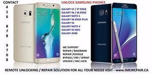 Unlock Imei Repair Root FRP Google Samsung lock Samsung S7, S6, Note 5, Edge plus, Neo, S6 Edge S5 Note 4 J1 J3