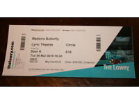 Opera Ticket for Madama Butterfly at the Lyric Theatre (The Lowry) Manchester