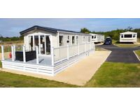 Caravan for sale, with decking, Isle of Wight