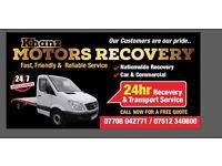 24/7 Recovery service & transport service 24/7
