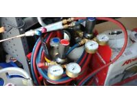 Oxygen acetylene brazing kit,tube bender,pipe expander,ofn gauges