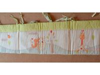 Babies R Us cot-bed quilt & bumper