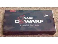 Brand new Nash Dwarf 6' rod skin