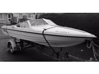 speed boat, powerboat, Fletcher, 100hp outboard