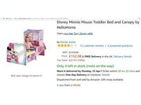 Disney Minnie Mouse Toddler Bed and Canopy by HelloHome