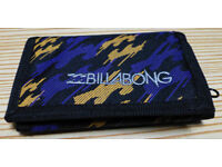 Billabong tri-fold wallet – new
