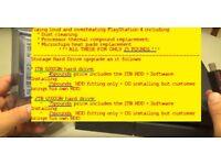 Fixing loud/overheating PS4 & Storage Upgrade