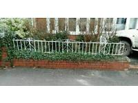 Wrought iron metal decorative fencing/railings