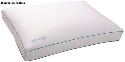 Sleep Better Iso-Cool Memory Foam Pillow Gusseted Side Sleeper Standard