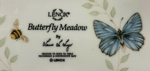 Lenox Scalloped Butterfly Meadow Accent China Pieces YOU CHOOSE