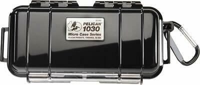 Waterproof Case | Pelican 1030 Micro Case - for GoPro, Camera, and More (Black) 1030 Waterproof Case