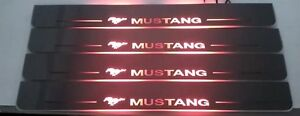 Ford Mustang moving led door sills