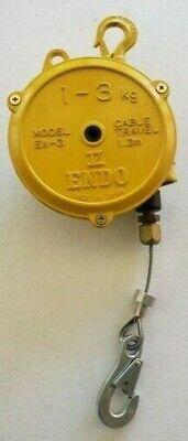 Endo Kogyo Spring Balancer Model - Ew-3 1 - 3 Kg Cable Travel 1.3 M