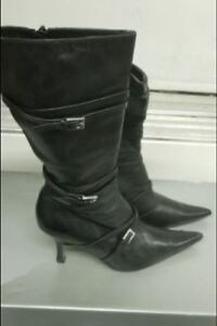 Womens Tall Aldo Black Boots - Worn 1x - Size 9