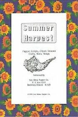 Summer Harvest Christian Teacher Resource Book, puppet ministry, crafts, skits](Preschool Summer Crafts)