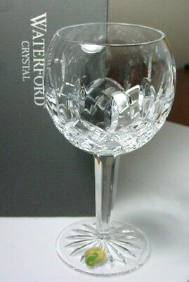 Waterford Crystal LISMORE Balloon Wine Glass (S) - NEW IN BOX! Crystal Balloon Wine