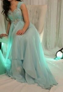 Gorgeous blue alyce evening or grad dress