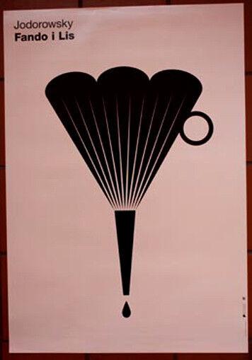 Fando+and+Lis+-+Alejandro+Jodorowsky+-+Polish+Poster
