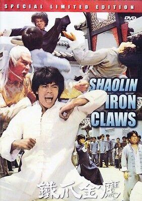 shaolin iron claws- Hong Kong RARE Kung Fu Martial Arts Action movie - NEW DVD