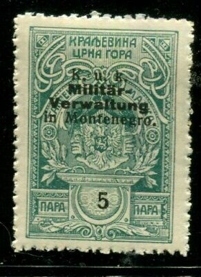 Montenegro / Austrian Austria Occupation  Revenue Municipal wtmked  5 p  x6292