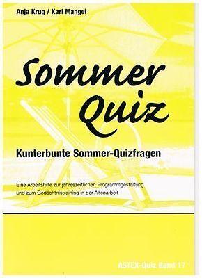 Das Sommer-Quiz für Senioren