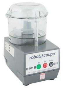 Robot Coupe R101 Combination Cutter and Vegetable Slicer -2.5 Qt. Clear Bowl - FREE SHIPPING