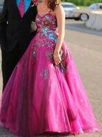 Prom Dress - Pink by Alexia Designs