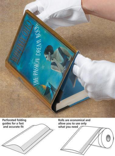 how to put a brodart fold on