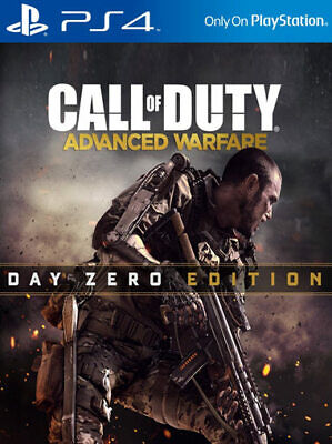 Call of Duty: Advanced Warfare Day Zero Edition PS4 PlayStation 4 *NEW*...