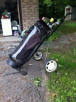 Golf clubs, bag & cart - Price Reduced!