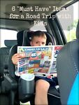 6 Must Have Items for a Road Trip with Kids