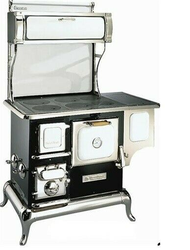 Heartland Sweetheart 2603 Wood Cookstove New in crate White with blue imprint