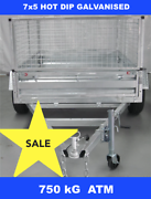 7x5 HOT DIP GALVANISED TRAILER 750 KG GVM ON SPECIAL NOW Dandenong South Greater Dandenong Preview