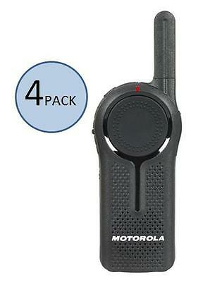 4 Motorola DLR1060 Digital Two Way Radio Walkie Talkies - Ships Fast, Best (Best Price Walkie Talkies)