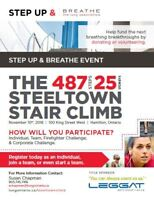 Steeltown Stair Climb in support of The Lung Association
