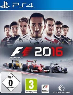 Playstation 4 F1 2016 Formel eins Sehr guter Zustand (Ps4 Formel Eins)