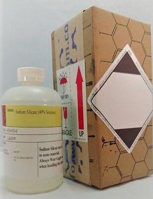Sodium Silicate Solution 40 32 Oz Hdpe Plastic Bottle